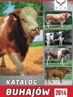Katalog buhajów na 2014